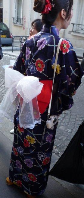 une japonaise à Montmartre