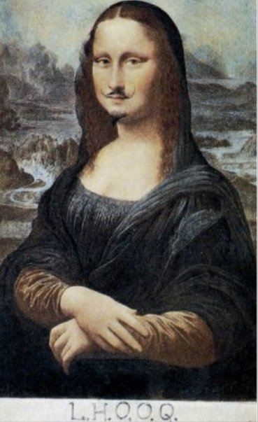 Marcel Duchamp - L.H.O.O.Q