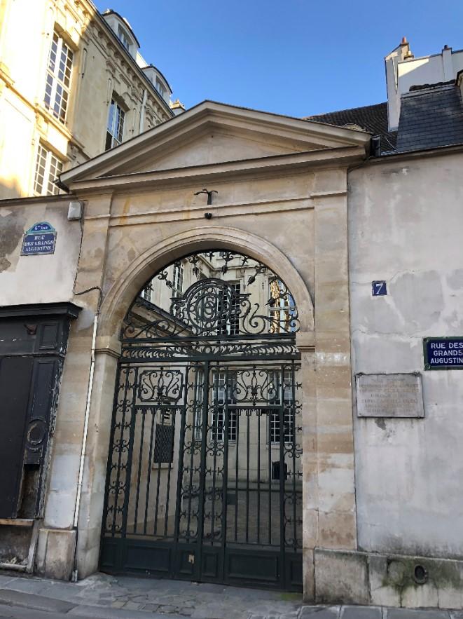 Atelier Picasso rue des Grands Augustins Paris 6ème