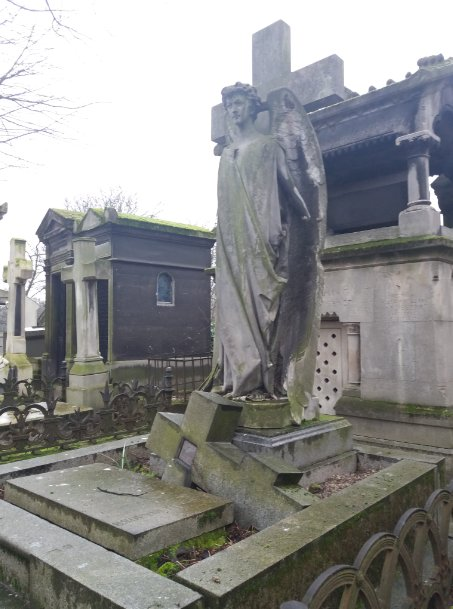 Le cimetière de Montmartre