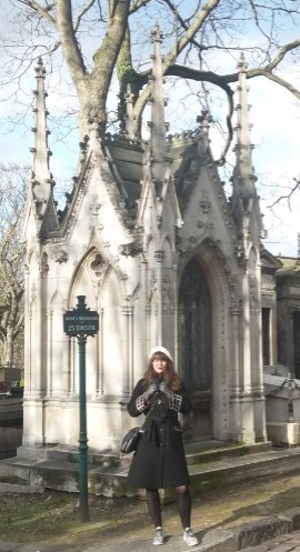 visite guidée du cimetiere de Montmartre