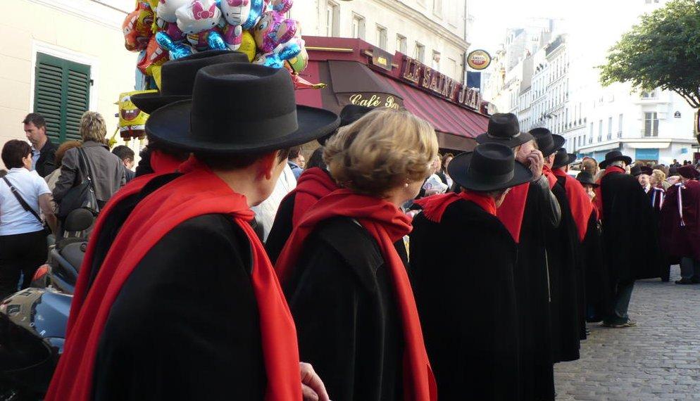 confrerie viticole fete des vendanges Montmartre