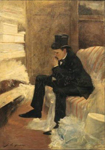 Jean-Louis Forain - le Veuf