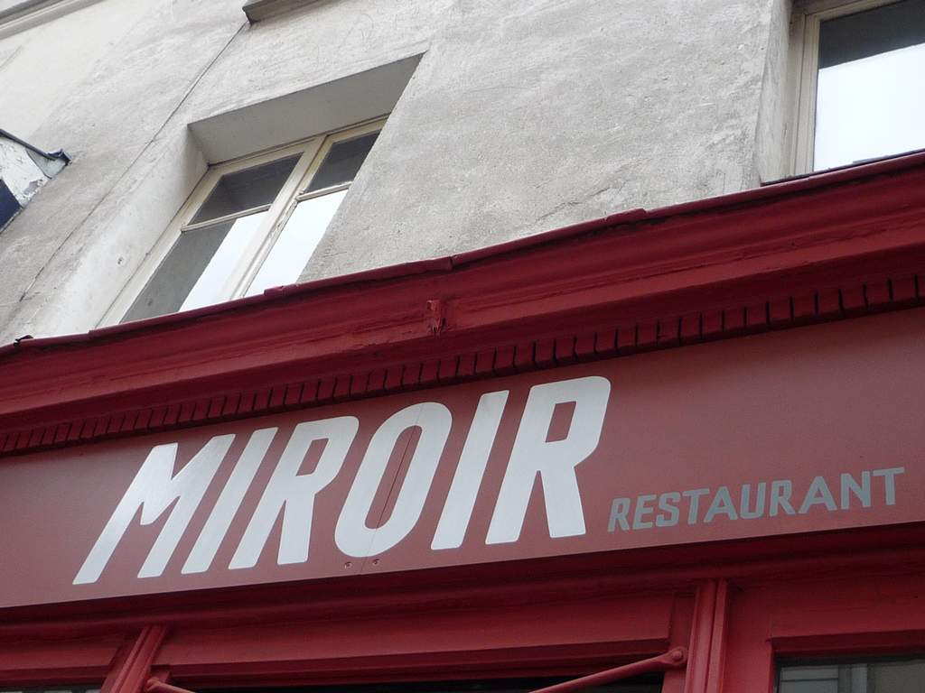 Restaurants de la butte montmartre for Restaurant miroir paris