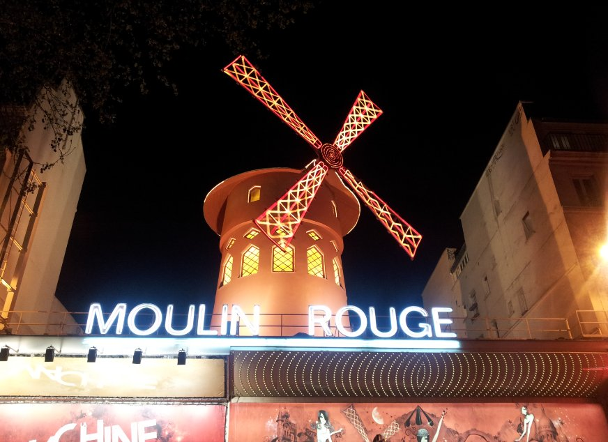 cabaret le Moulin rouge