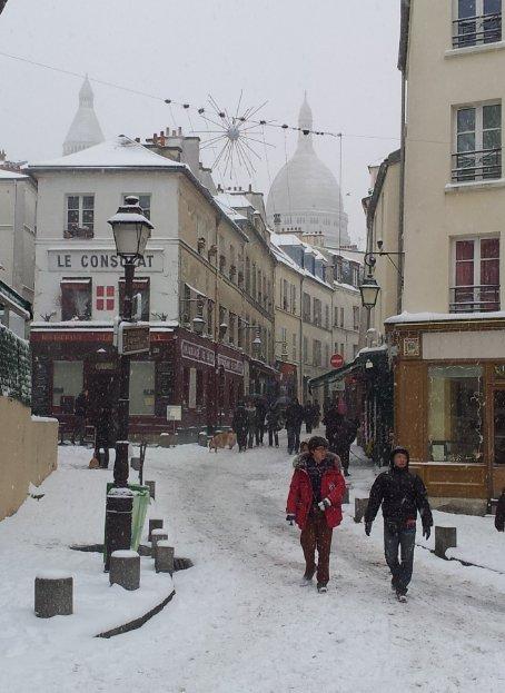 Montmartre Le Radet Et Le Restaurant Le Moulin De La