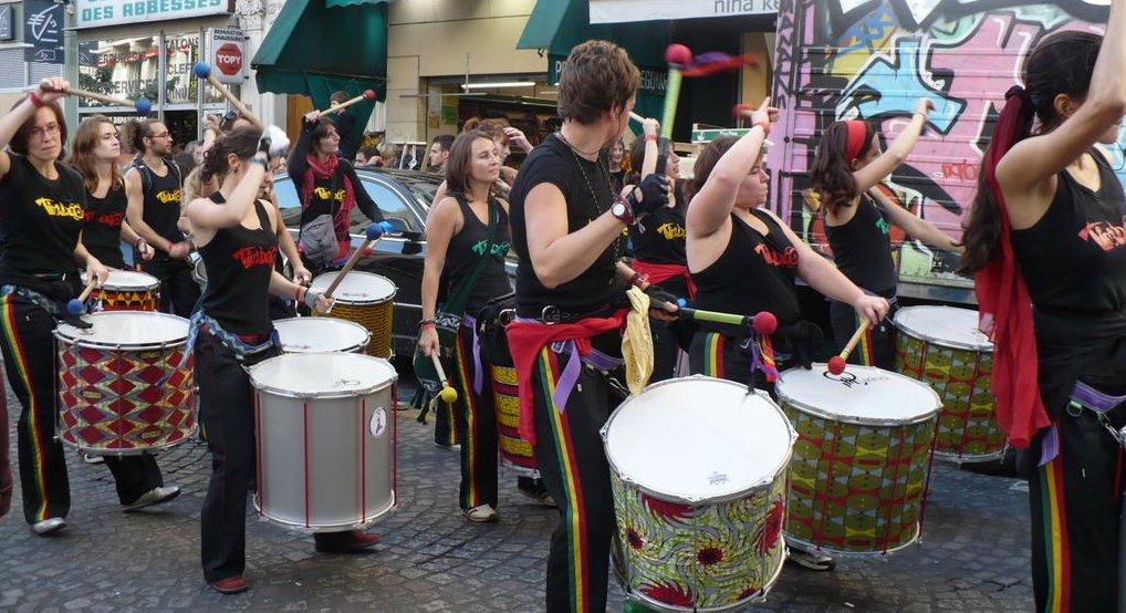 musiciens fete des vendanges Montmartre