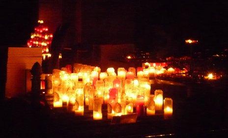 nuit adoration basilique du Sacré Coeur