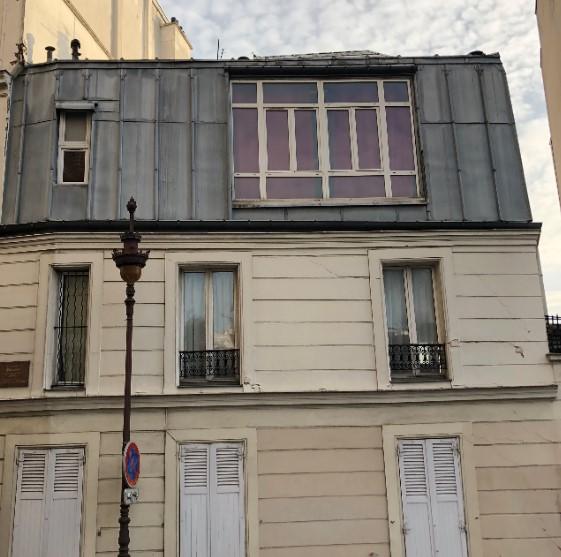 premier atelier de Picasso à Montmartre