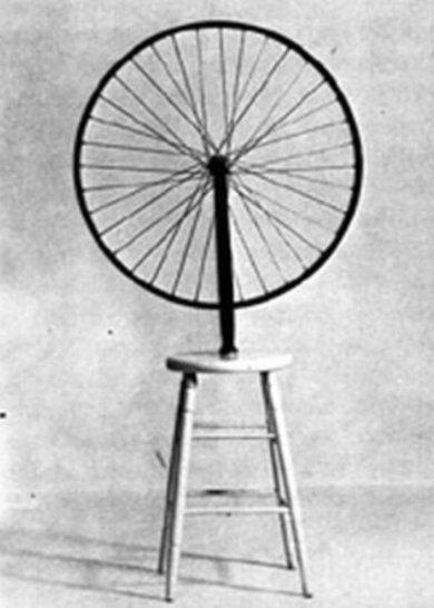 Roue de bicyclette de Marcel Duchamp