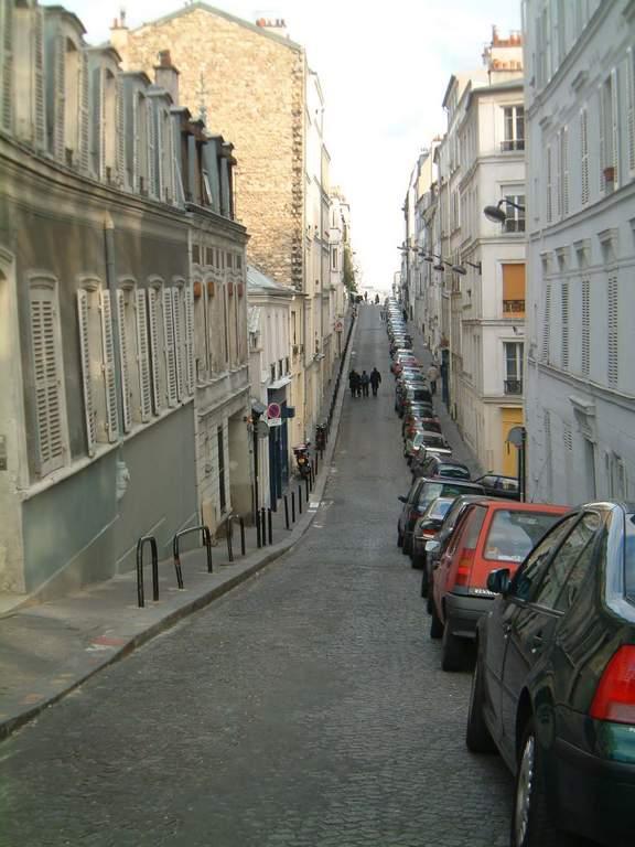 rue Berthe à Montmartre
