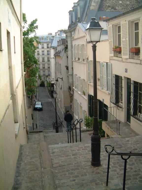 rue André Antoine à Montmartre