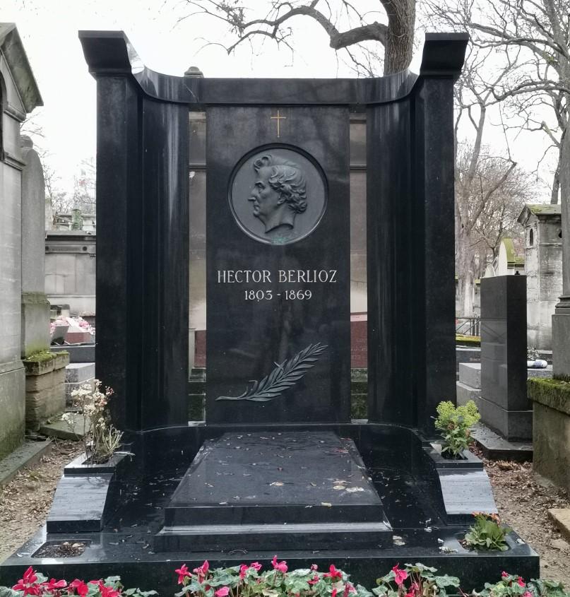 tombe d'Hector Berlioz au cimetiere de Montmartre