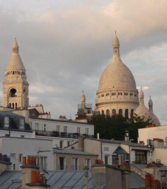 vue des toits de Montmartre