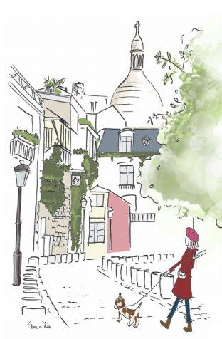 La jolie butte Montmartre